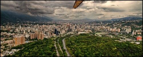 La Universidad Central en Caracas.
