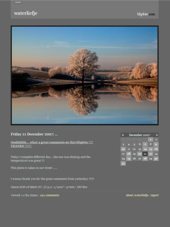 Friday 21 December 2007: ...