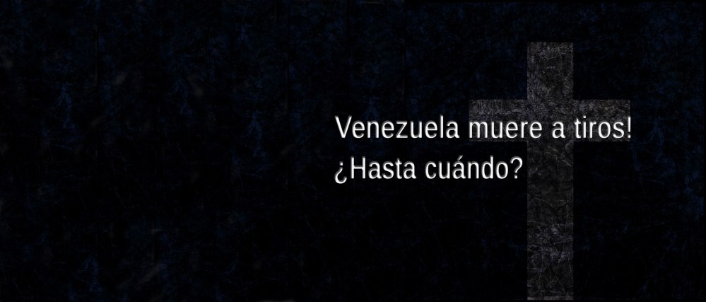 Venezuela is dying shot. We demand responsibility to their rulers.
