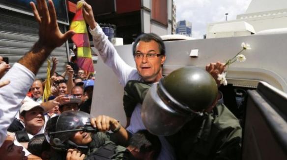 Artur Mas-Leopoldo Lopez