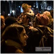 Manifestación feminista en Plaza cataluña el 8 de Marzo 2018